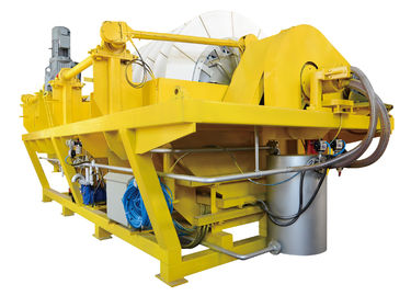 High Vacuum Ceramic Dewatering Machine , Rotary Vacuum Filter Heavy Duty