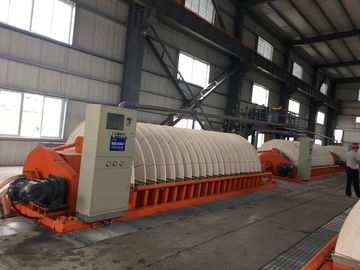 Durable Ceramic Dewatering Equipment 100 M2 Filtration Area  High Vacuum